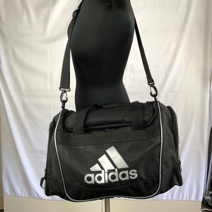 Adidas Black Nylon Gym Large Bag